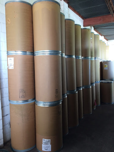 Used 55 Gallons lock-rim Fiber Drums Fiber Barrels with cover