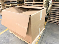 Used 48x40x34 Triple Wall Full Bottom Rectangular Gaylord Box , Shipping Box, Pallet box