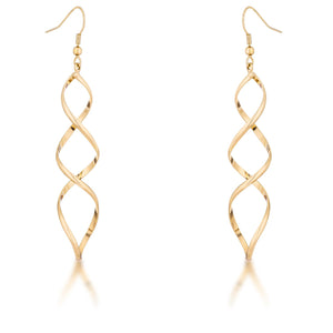 Golden Twist Earrings