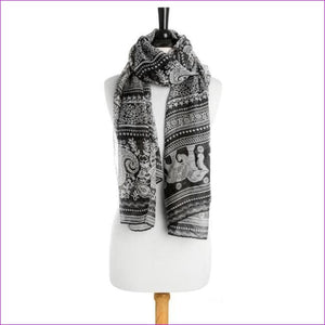 Michelle Scarf in Black - Scarves