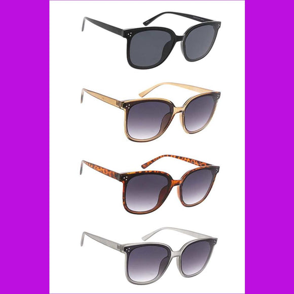 Womens Plastic Large Rectangular Frame