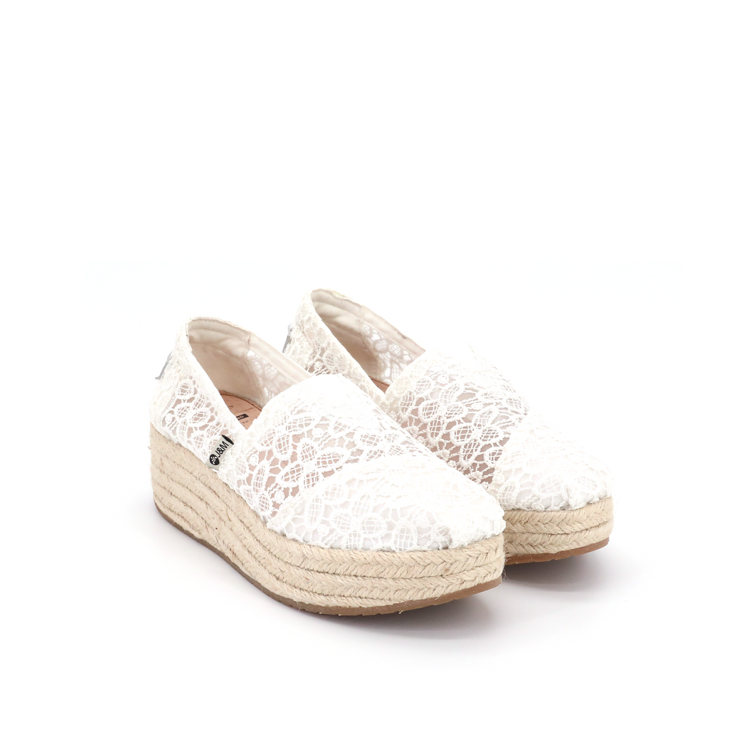 Espadrilles Wedges 86081W White