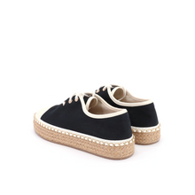 Load image into Gallery viewer, Espadrilles Platform Chic 85022W Black