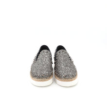 Load image into Gallery viewer, Espadrilles Platform 75028W DK Grey