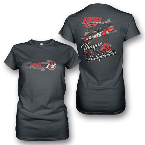 Thayne Hallyburton Racing Ladies' T-Shirt (v1)