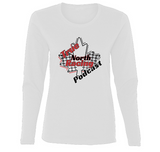 True North Racing Podcast Ladies' Long Sleeve S-XL