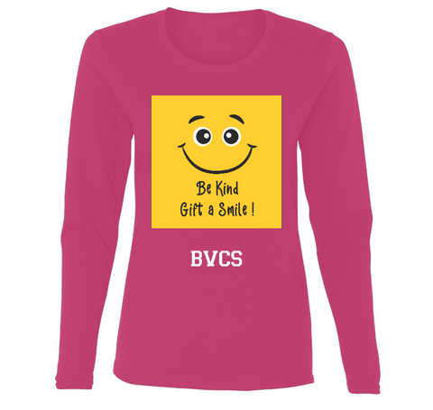 BVCS Gift A Smile! Ladies' Long Sleeve