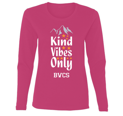 BVCS Kind Vibes Only Ladies' Long Sleeve