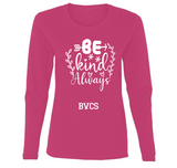 BVCS Be Kind Artistic Ladies' Long Sleeve