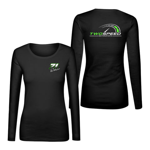 Cory McAllister Ladies Double Sided LS Shirt