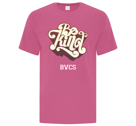 BVCS Be Kind Retro Design Men's T-Shirt 2XL-4XL