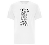 Be the Reason Someone Smiles Today Men's T-Shirt