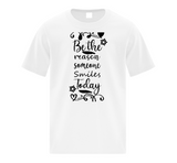 Be the Reason Someone Smiles Today Youth T-Shirt