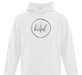 Be Kind Abstract Adult Hoodie