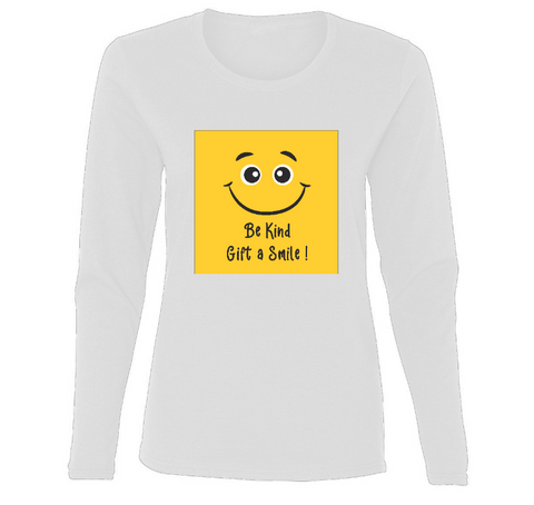Gift A Smile! Ladies' Long Sleeve