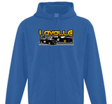 Lavalle Racing Adult Zip Hoodie (S-XL)