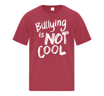 BVCS Bullying is NOT COOL Youth T-Shirt