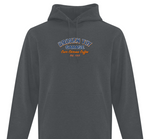 Broken Toy Garage Adult Hoodie