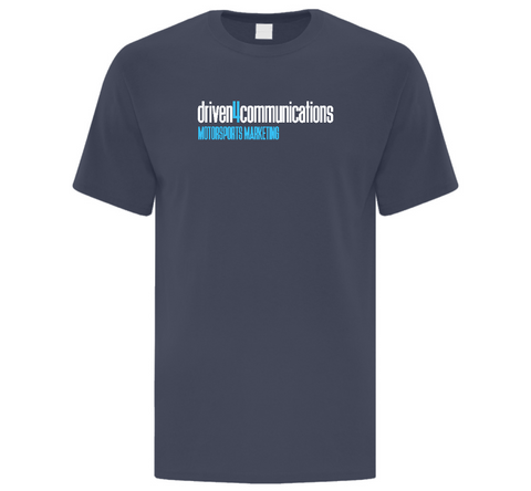 Driven4Communications Adult T-Shirt