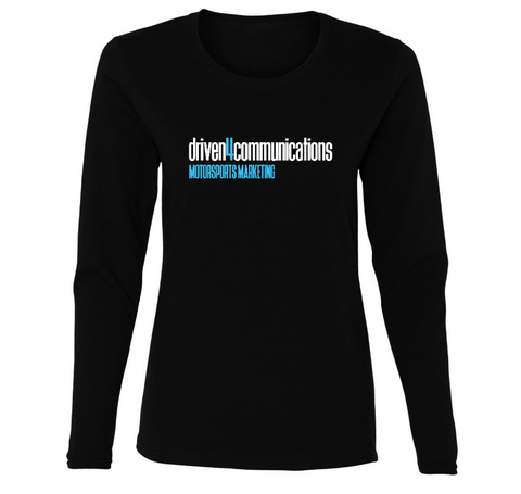 Driven4Communications Ladies Long Sleeve Shirt