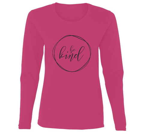 Be Kind Abstract Ladies' Long Sleeve