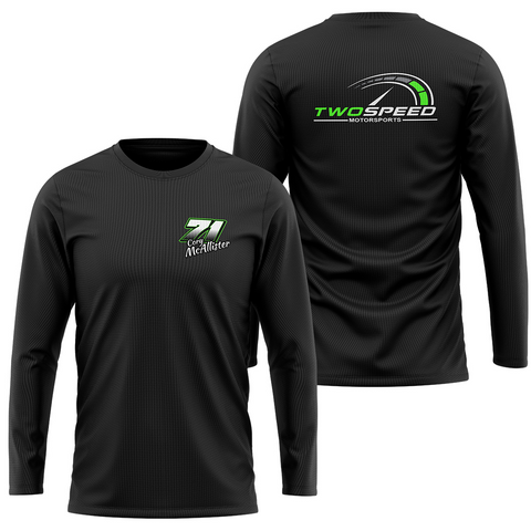 Cory McAllister 2 Side Men's Long Sleeve
