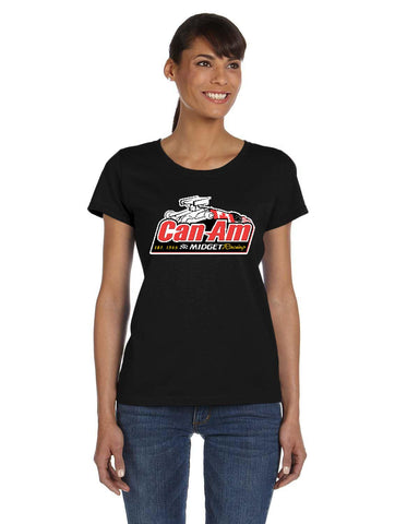 Can-Am Midget Racing Ladies' T-Shirt