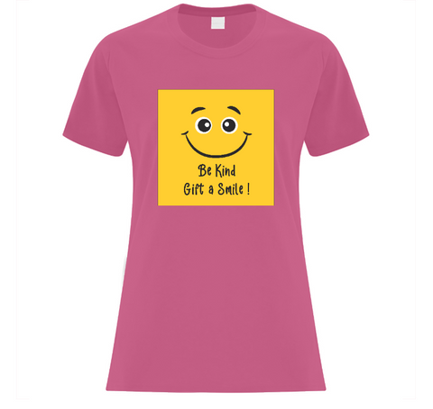 Gift A Smile! Ladies' T-Shirt