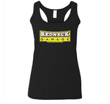 Redneck Garage Jim Dale Ladies Tank Top