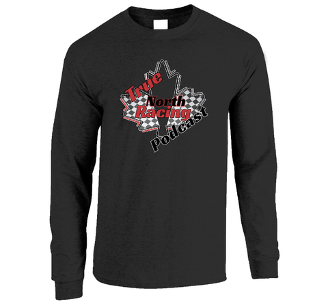 True North Racing Podcast Men's Long Sleeve S-XL
