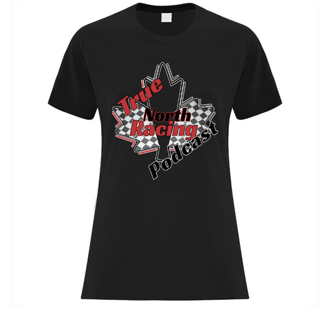 True North Racing Podcast Ladies' T-Shirt