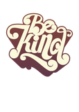 Be Kind Retro Design Ladies' T-Shirt