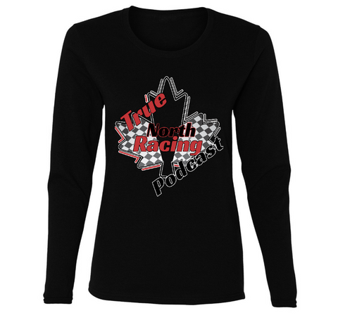 True North Racing Podcast Ladies' Long Sleeve 2XL-3XL