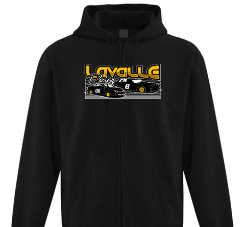 Lavalle Racing Adult Zip Hoodie (2XL-5XL)
