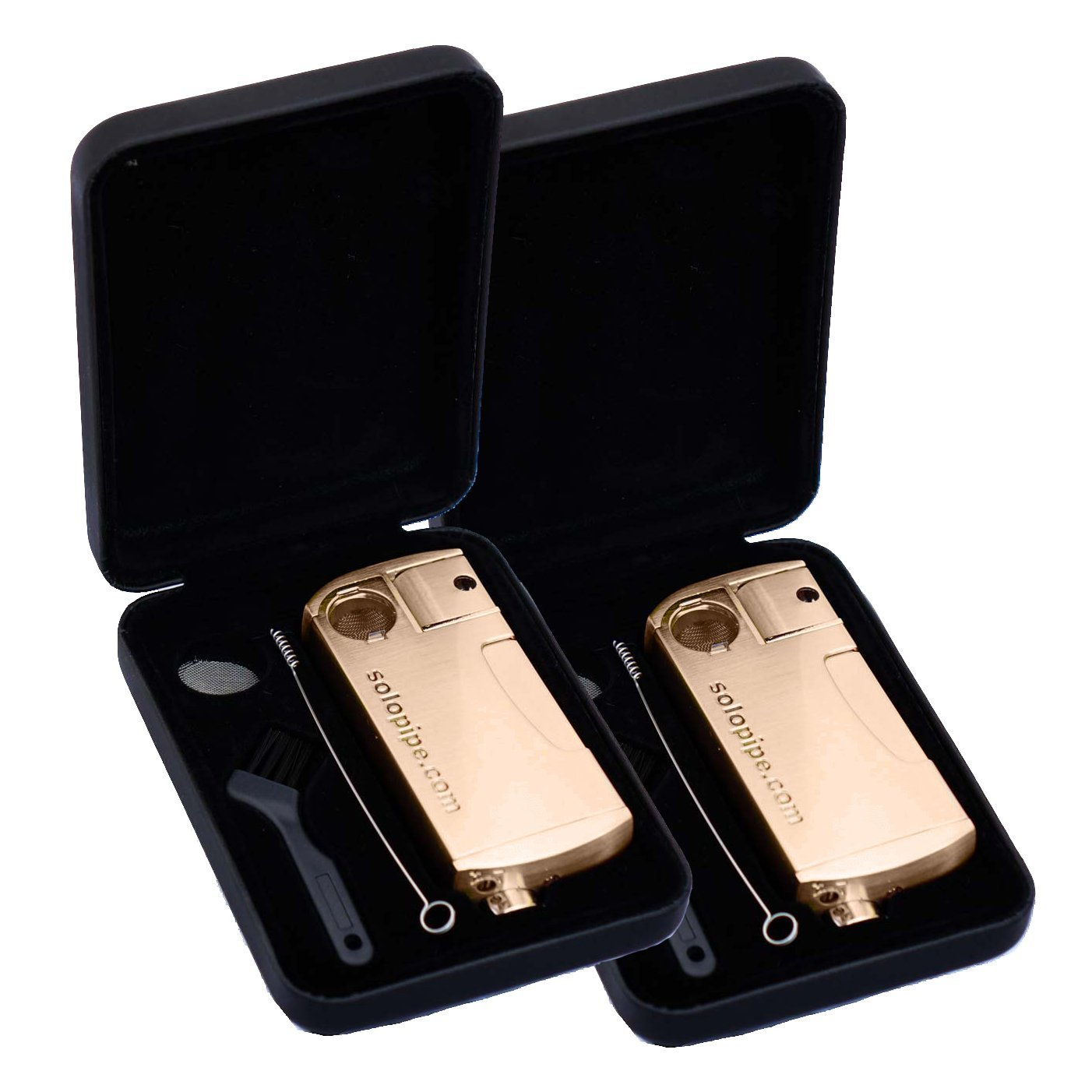 2 Pack The Original Refillable SoloPipe® - Provincial Rose Gold freeshipping - solopipe