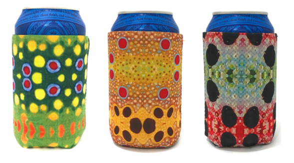 Wingo Fish Skin Can Cooler 3-Pack