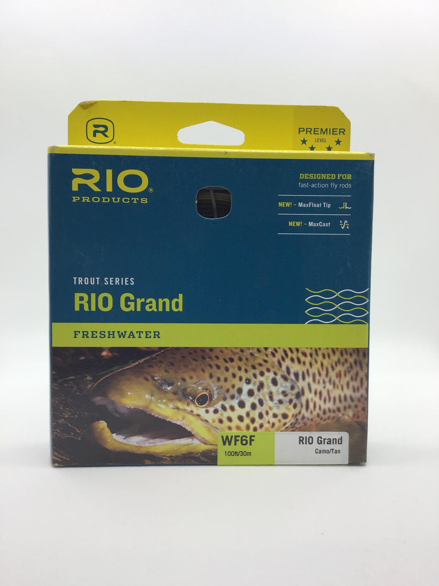 RIO Grand Freshwater Fly Line (Camo/Tan)