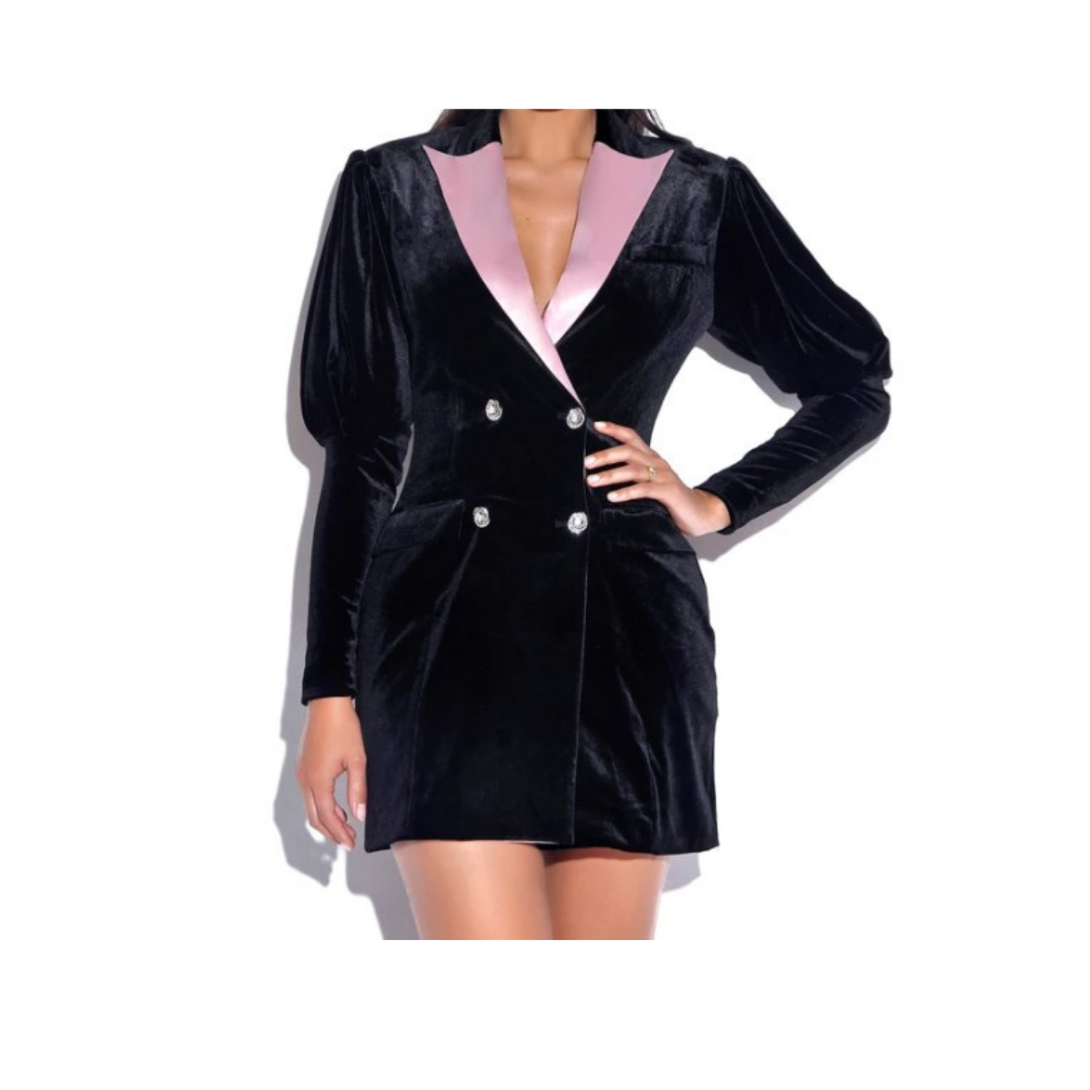 ''Lolita'' – Fashion Velvet Blazer Dress/Top