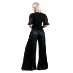 Load image into Gallery viewer, ''Lizo'' - Pleated Palazzo Pants