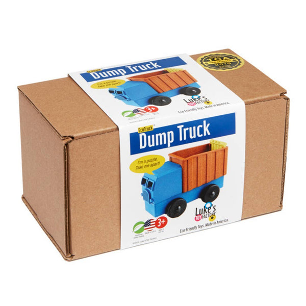 Luke's Toy Factory Dump Truck Puzzle
