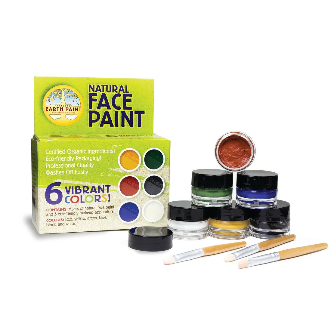 Natural Face Paints for Kids