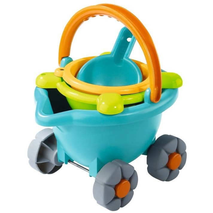 Sand Bucket Scooter Beach Toys by Haba
