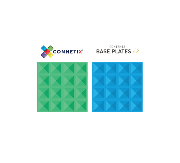 Connetix Base Plate Pack (2 Pieces)