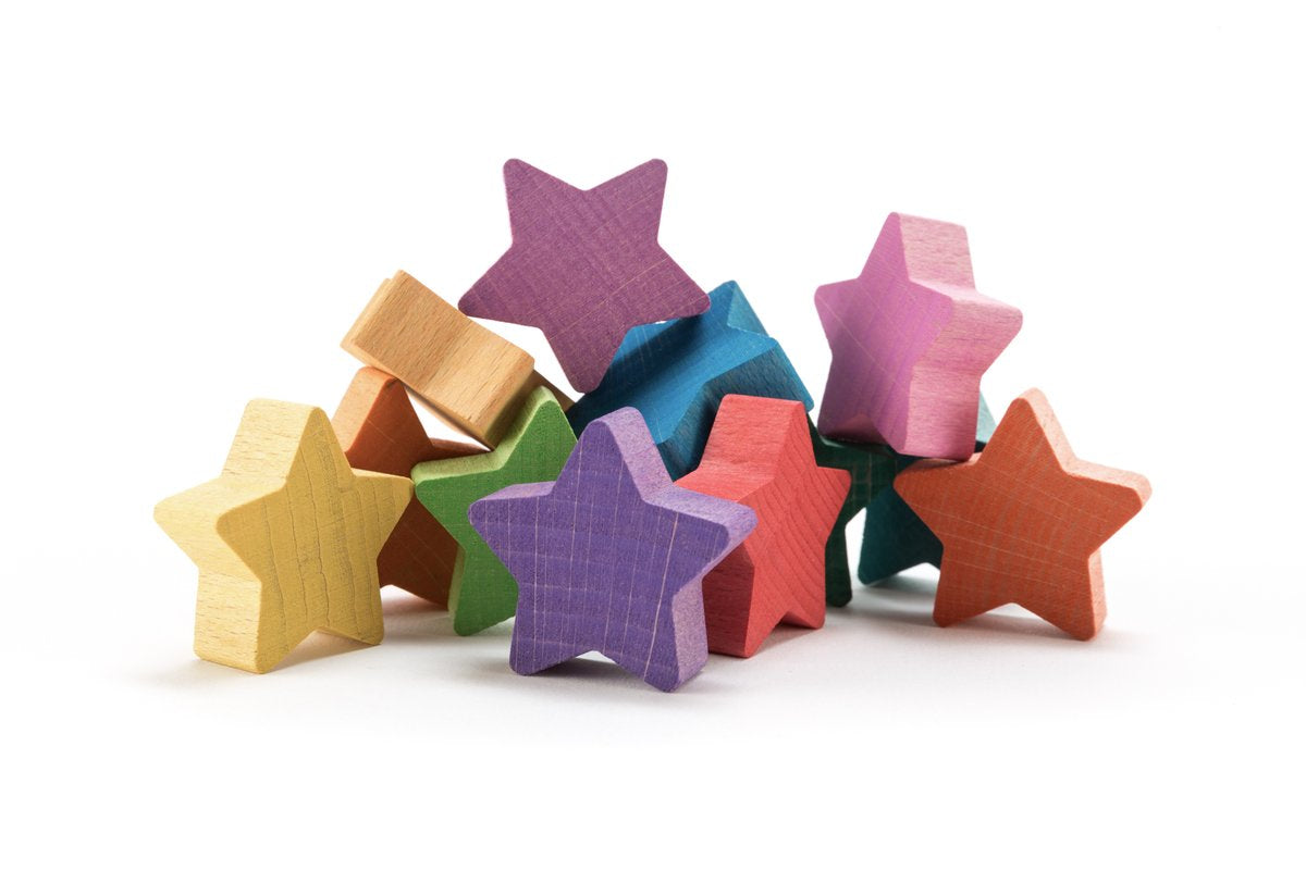 Ocamora Rainbow Stars - Set of 12