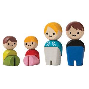 Mini Wooden Family Figures by PlanToys