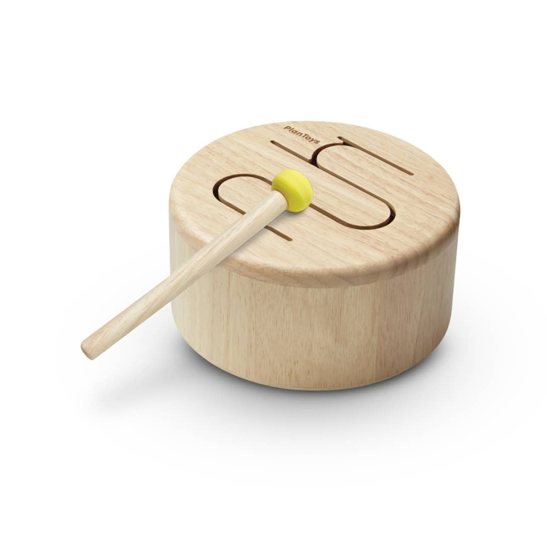 Solid Wood Drum for Kids