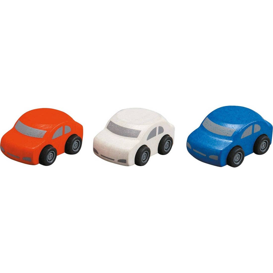 Smooth Rolling Wooden Mini Cars