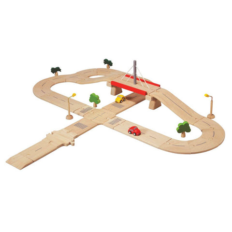 Mini Cars Road System Deluxe by PlanToys