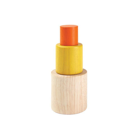 Montessori Inspired PlanToys Nesting Cylinders