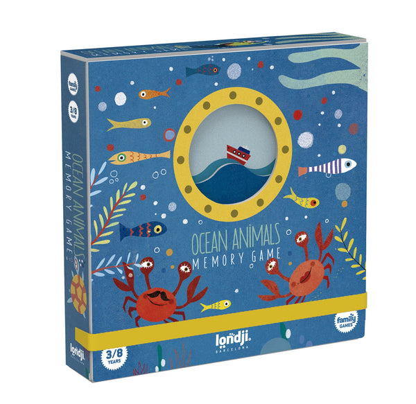 Londji Ocean Animals Memory Game